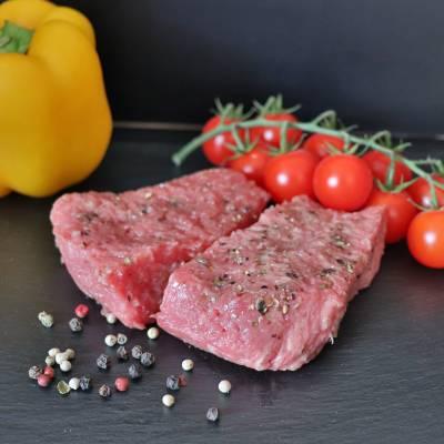 Pavé de bœuf x2 sauce aux poivres