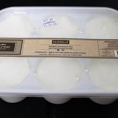 Faisselle lait de vache 6x100g