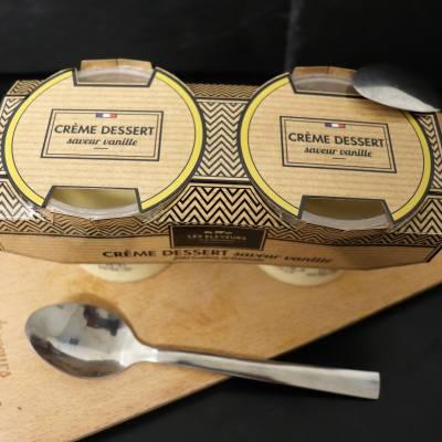 Crème dessert vanille 2x 110g
