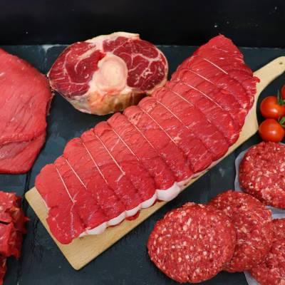 Colis Cuisse de bœuf détaillée