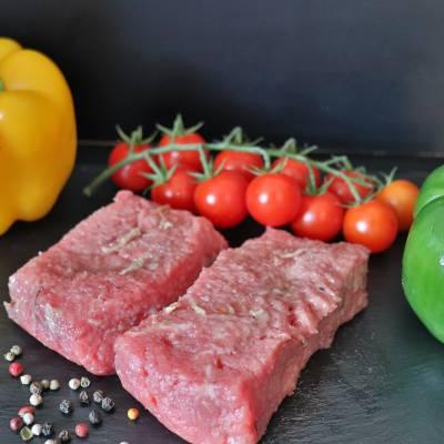 Pavé de bœuf à l'oignon x 2