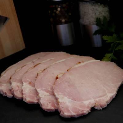 Tranches de roti de porc cuit x5