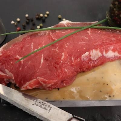 Faux Filet boeuf*** x1 avec sa marinade aux poivres